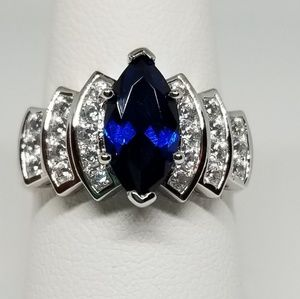 Jewelry - Sterling Silver Marquise Ring